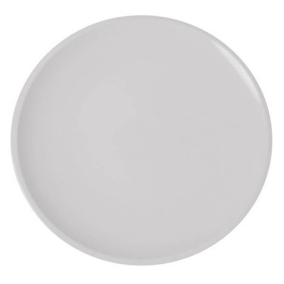ROUND COUPE PLATE WITH NARROW RIM