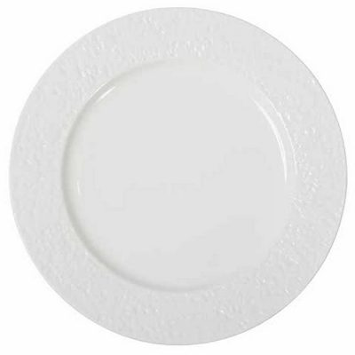 Round Rim Plate With Matte Rim
