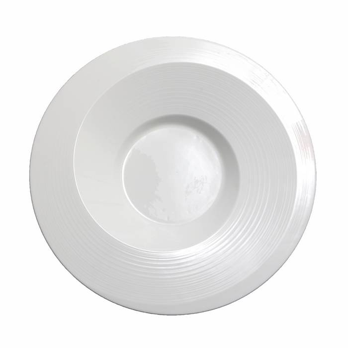 Deep Plate With Rim