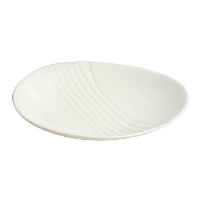 Triangle Textured Coupe Plate