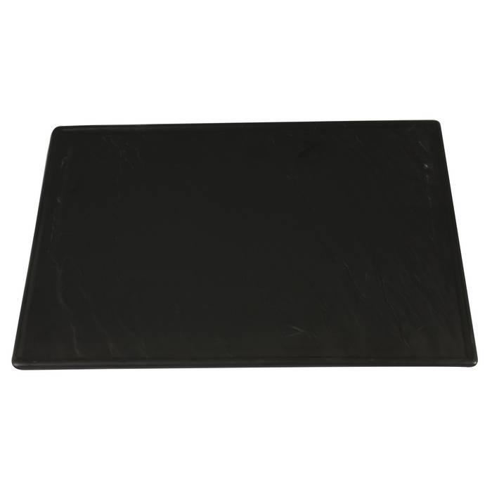 Rectangular Plate With Slate-Design