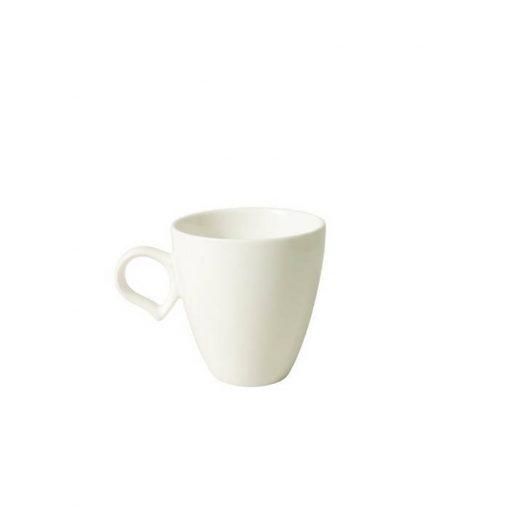 Coffee Mug With Peach Handle
