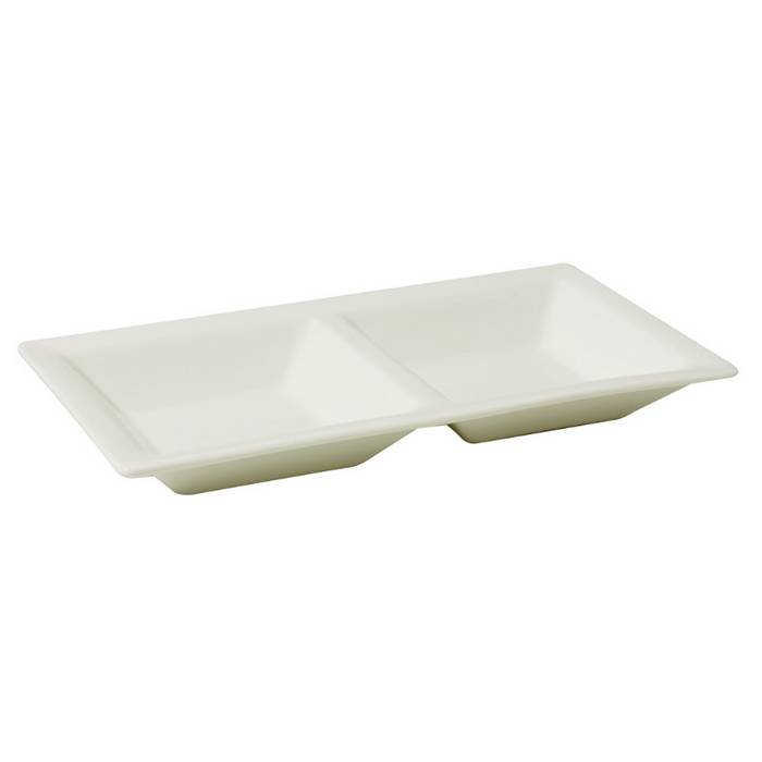 2 Compartment Tray