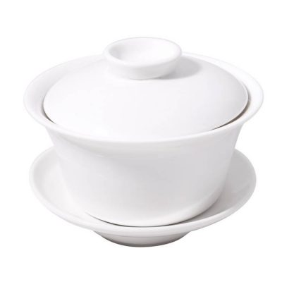 Chappei With Lid And Saucer