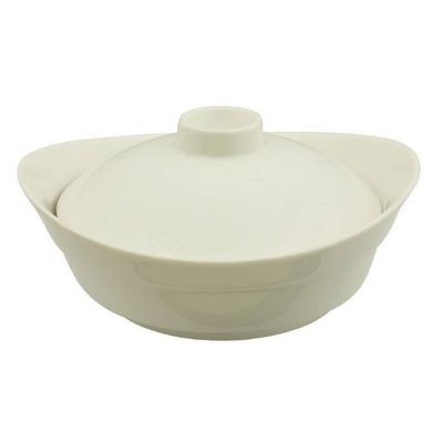 Boat Shape Bowl With Cover