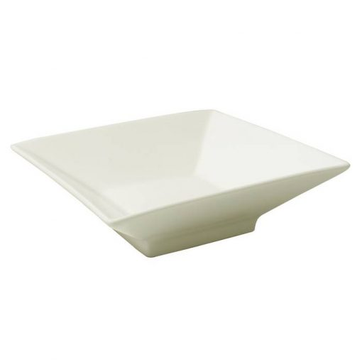 Square Bowl With Foot