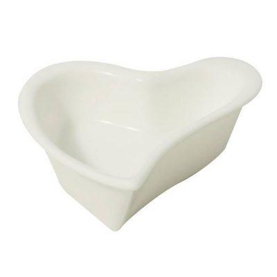 Wavy Heart Shape Dish, Hors D'Oeuvre