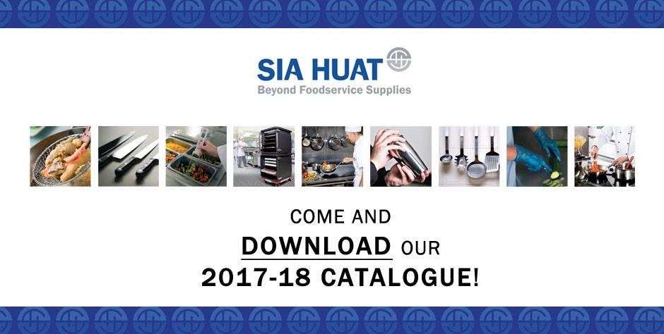 NEW Sia Huat Catalogue 2017/18